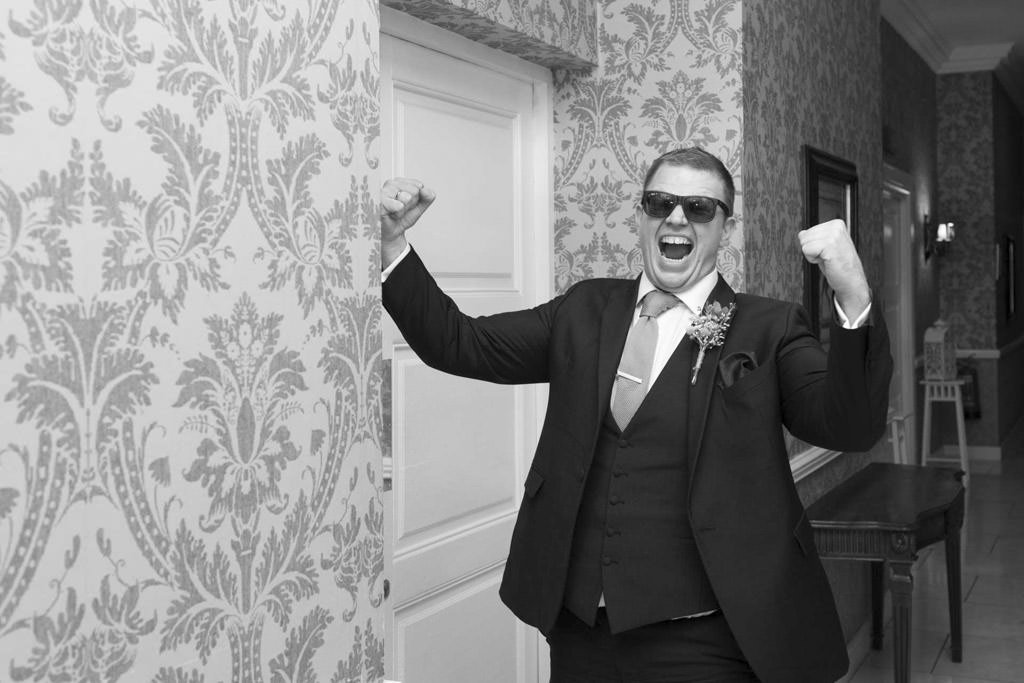 Fun Wedding Photography David Clynch